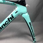 Bianchi Oltre XR4 Lotto Team downtube